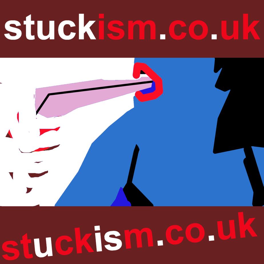 stuck u is stuckism by Edgeworth Johnstone #stuckism